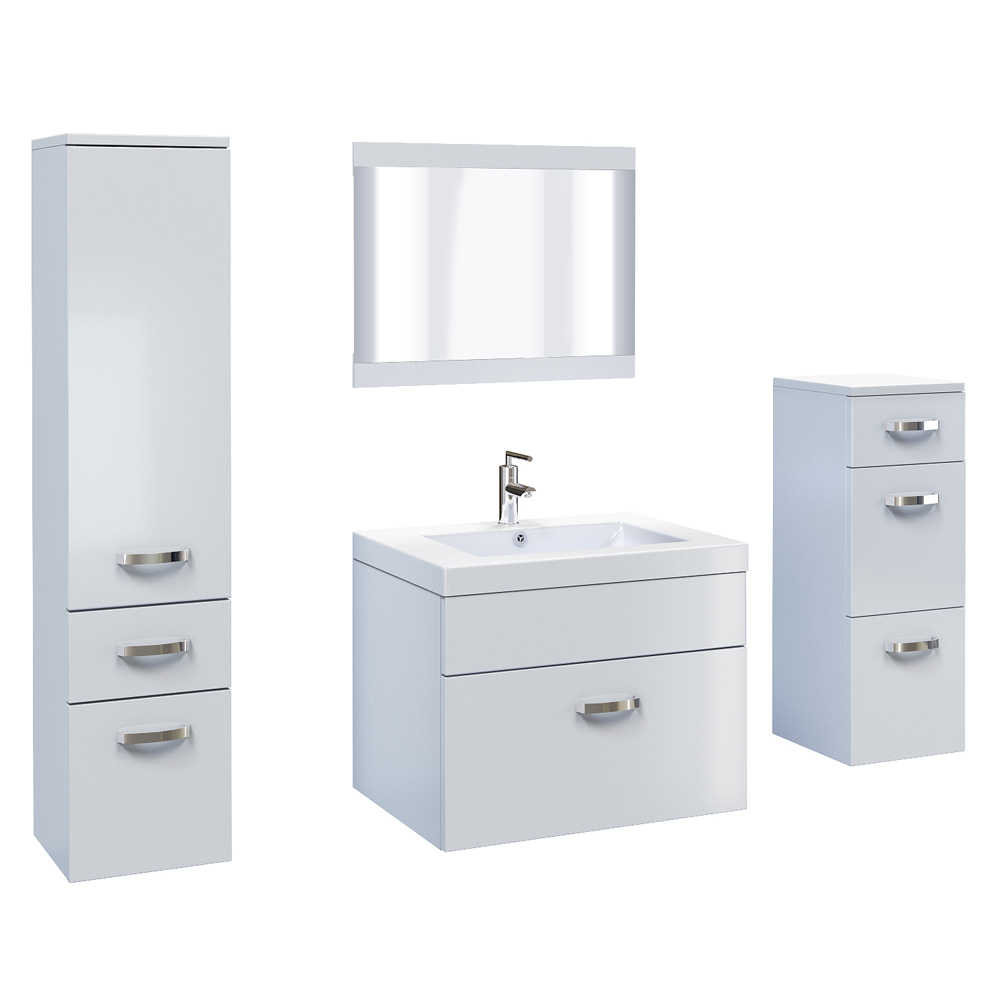 badm bel badezimmer set badezimmerm bel braun weiss mdf edel 5 tlg ebay. Black Bedroom Furniture Sets. Home Design Ideas