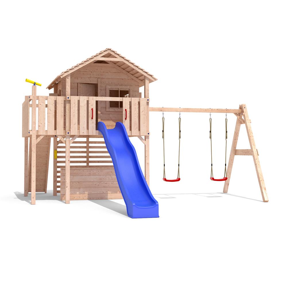 rutsche f r baumhaus spielturm kinderhaus stelzenhaus spielhaus baumhaus inkl rutsche und. Black Bedroom Furniture Sets. Home Design Ideas