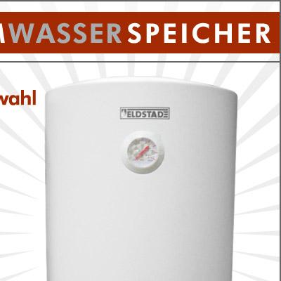eldstad warmwasserspeicher boiler elektro speicher heizung 30 50 80 100 liter. Black Bedroom Furniture Sets. Home Design Ideas