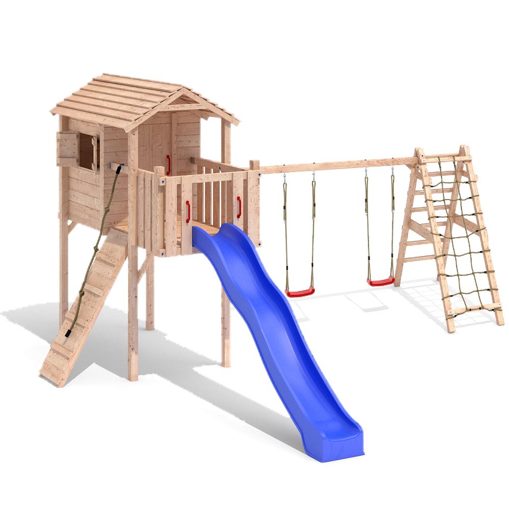 Außergewöhnlich Attraktiv Spielturm Mit 2 Schaukeln @ZN82 – Startupjobsfa @PR_44